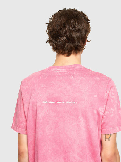 Diesel - T-JUST-E2, Pink - T-Shirts - Image 3