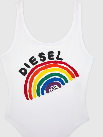 Diesel - UFBY-BODY-P, White - Bodysuits - Image 3