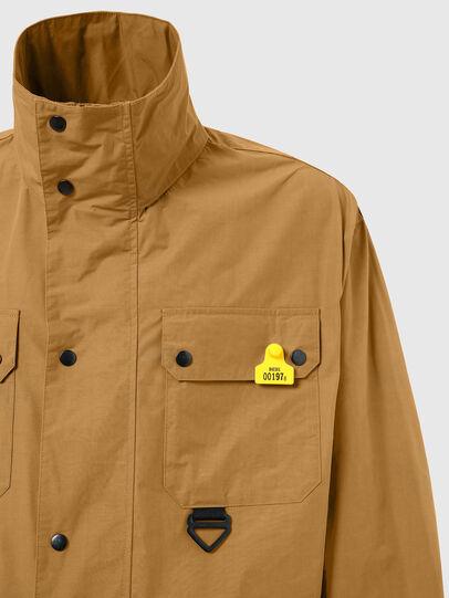 Diesel - J-AHKEE, Light Brown - Jackets - Image 4