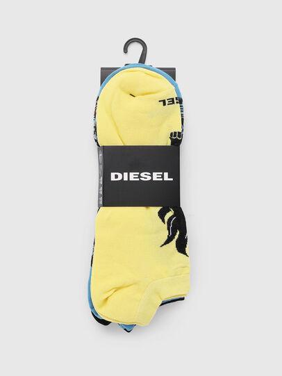 Diesel - SKM-GOST-THREEPACK, Multicolor - Socks - Image 2