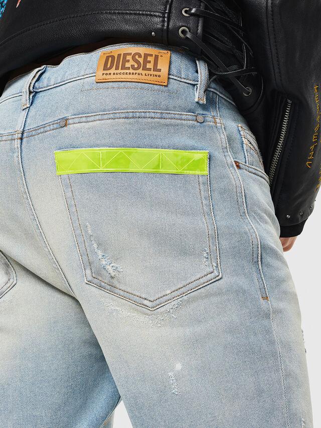 Diesel - D-Eetar 081AK, Light Blue - Jeans - Image 5