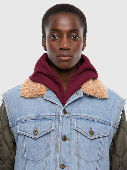 Diesel - W-SHAYL, Military Green - Winter Jackets - Image 3