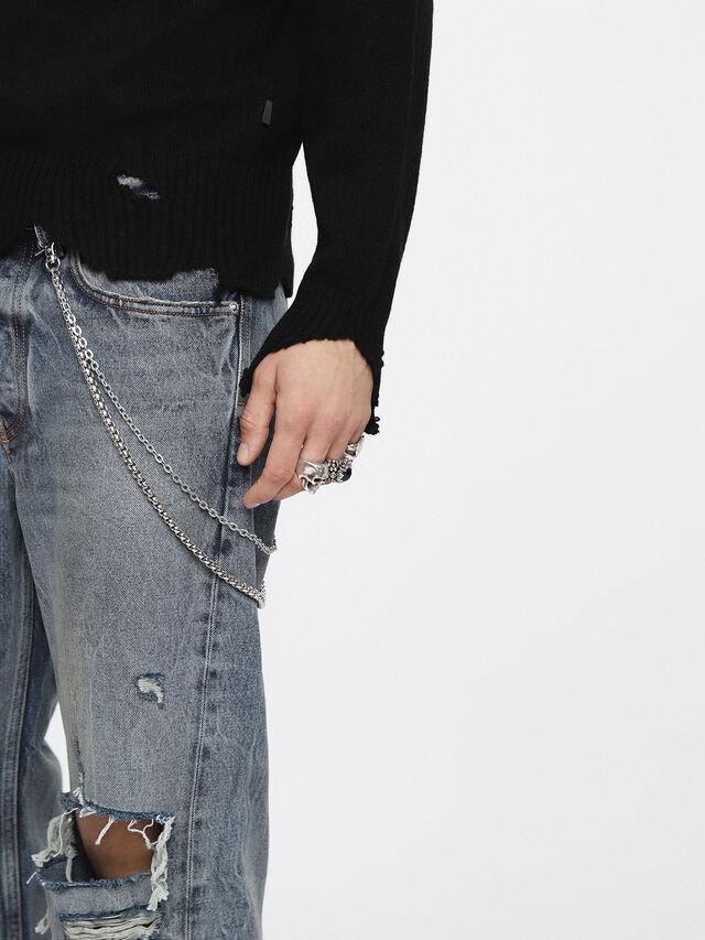 Diesel - K-MUST, Black - Knitwear - Image 3