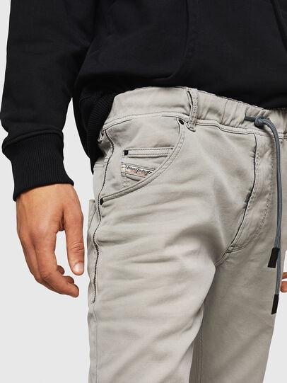 Diesel - Krooley JoggJeans 0670M, Light Grey - Jeans - Image 3