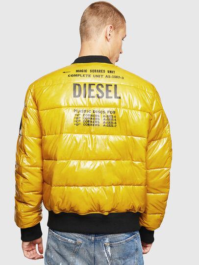 Diesel - W-ON, Yellow - Winter Jackets - Image 2
