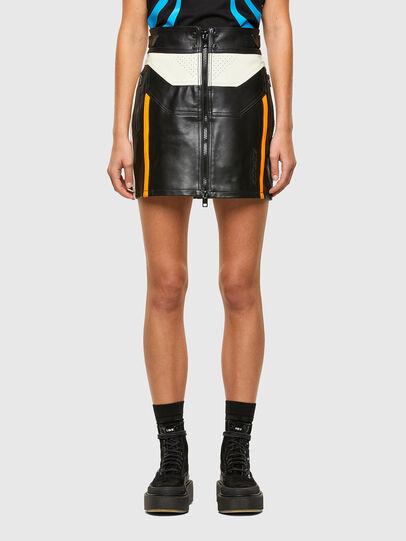 Diesel - ASTARS-SCINQUES-B, Black - Skirts - Image 1