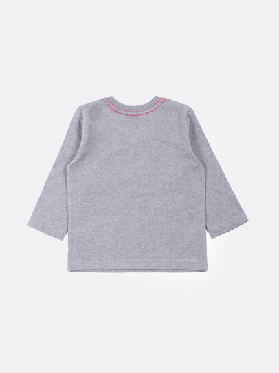 Diesel - TOQUEB, Grey - T-shirts and Tops - Image 2