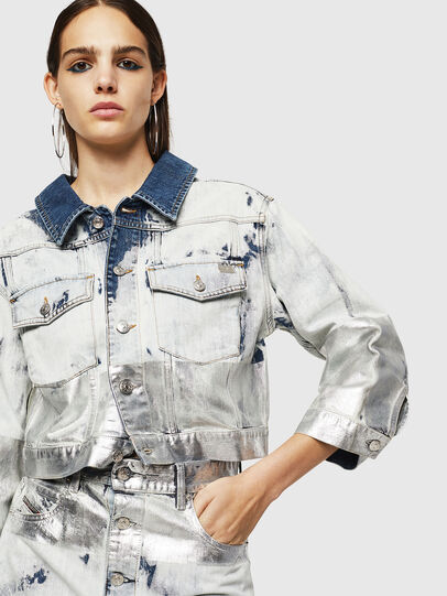 Diesel - DE-CATE, Light Blue - Denim Jackets - Image 3