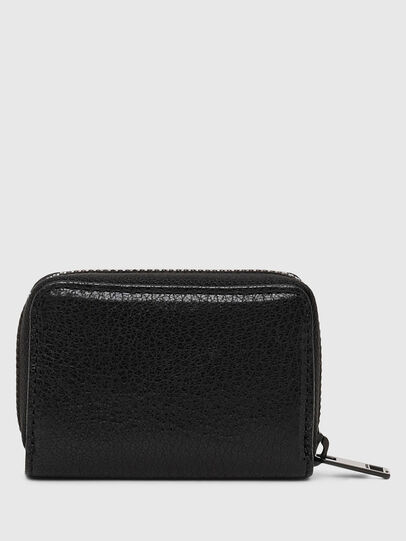 Diesel - JAPAROUND, Black/Orange - Zip-Round Wallets - Image 2