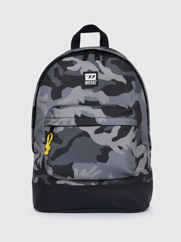 Backpack in camouflage fabric