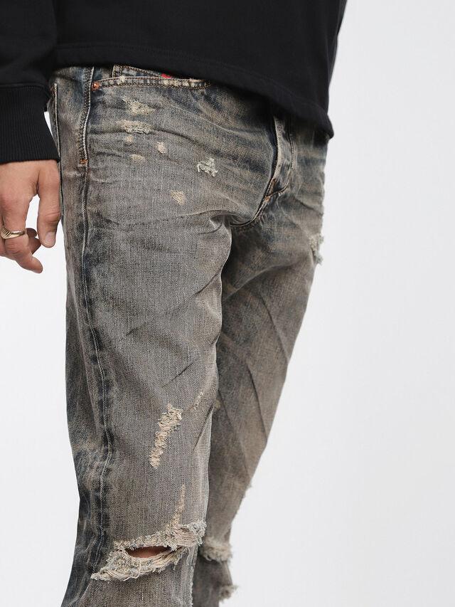 Diesel Larkee-Beex 084XB, Light Grey - Jeans - Image 3