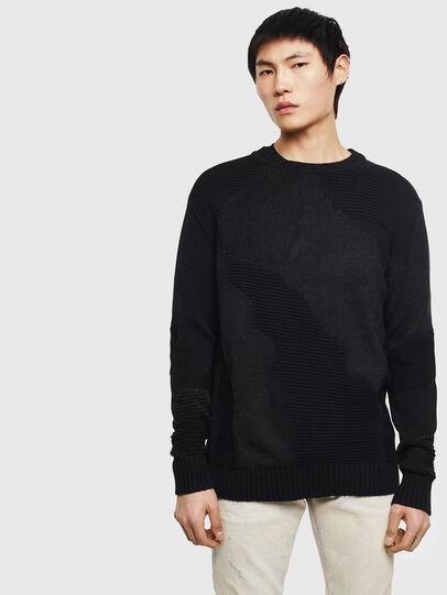Diesel - K-CAMMY, Black - Knitwear - Image 1
