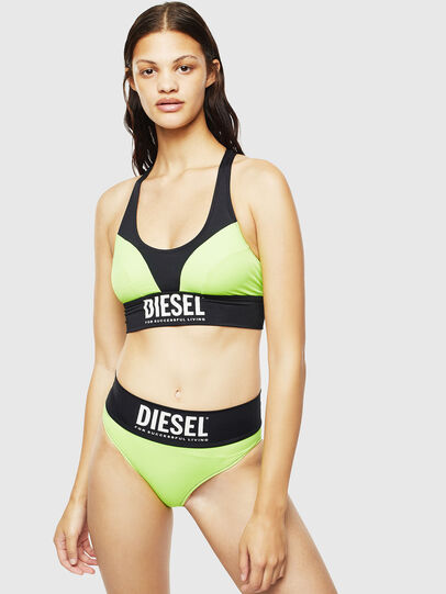 Diesel - BFB-BEACHYBRA, Green/Black - Bras - Image 4