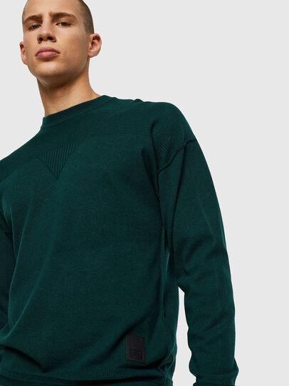 Diesel - K-LETO, Dark Green - Knitwear - Image 4