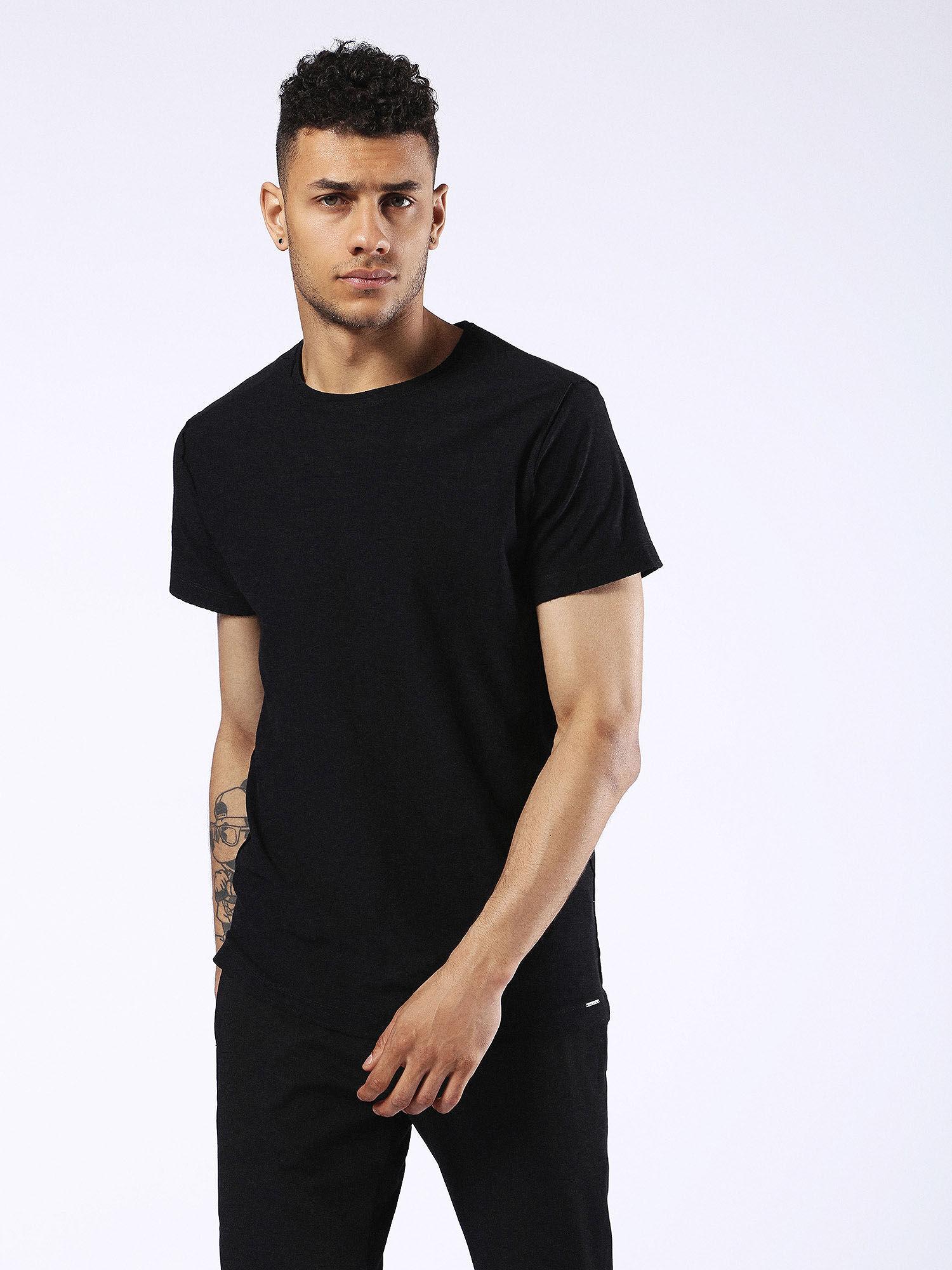 00SRFL00KDY T-Shirts Man T-KNAK by Diesel Black