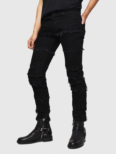 Diesel - TYPE-2813-X, Black - Jeans - Image 1