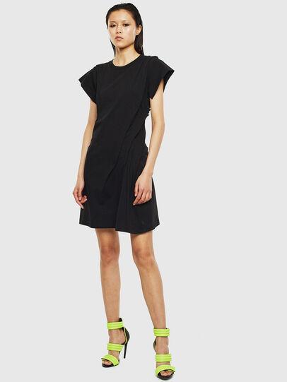 Diesel - D-ATRIX, Black - Dresses - Image 1
