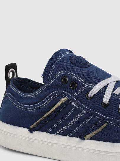 Diesel - S-ASTICO LOW LACE, Blue - Sneakers - Image 4