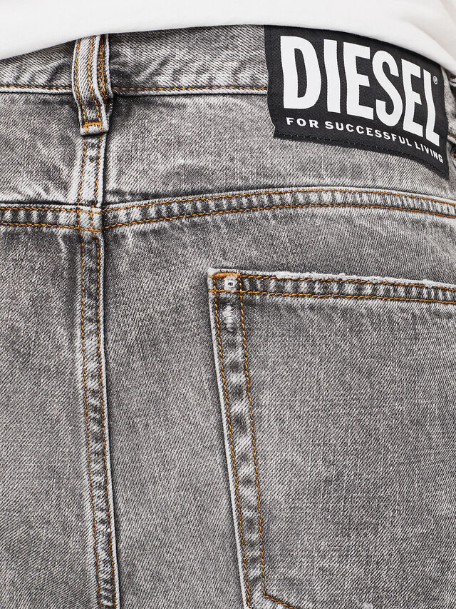 Diesel - D-KORT, Light Grey - Shorts - Image 5