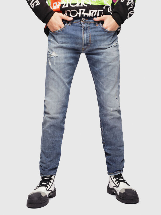 Diesel - Thommer 069DZ, Medium blue - Jeans - Image 1