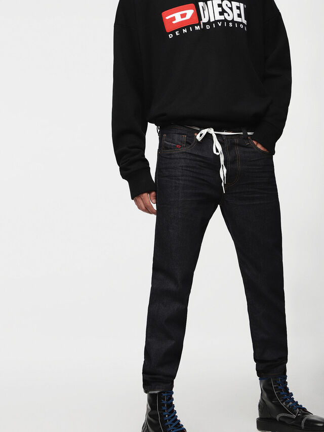 Diesel - Mharky 0088Z, Dark Blue - Jeans - Image 1