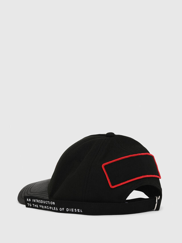 Diesel - C-BOTTY, Black/Red - Caps - Image 2