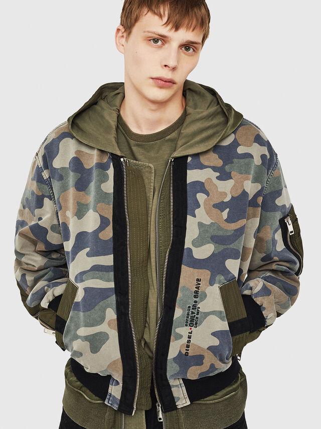 6bc847dfaf24e D-AZLEY JOGGJEANS Men: Bomber jacket | Diesel