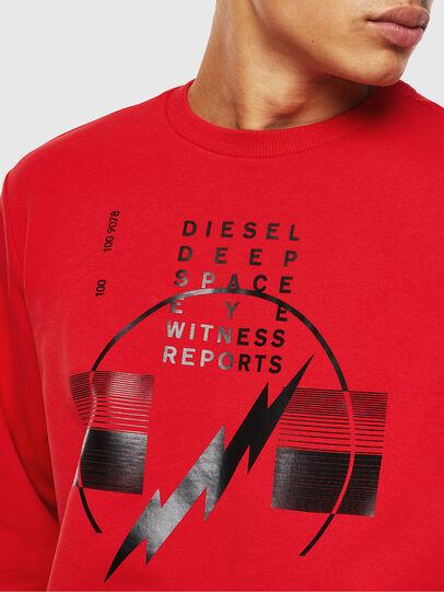 Diesel - S-GIRK-J2, Red - Sweaters - Image 3