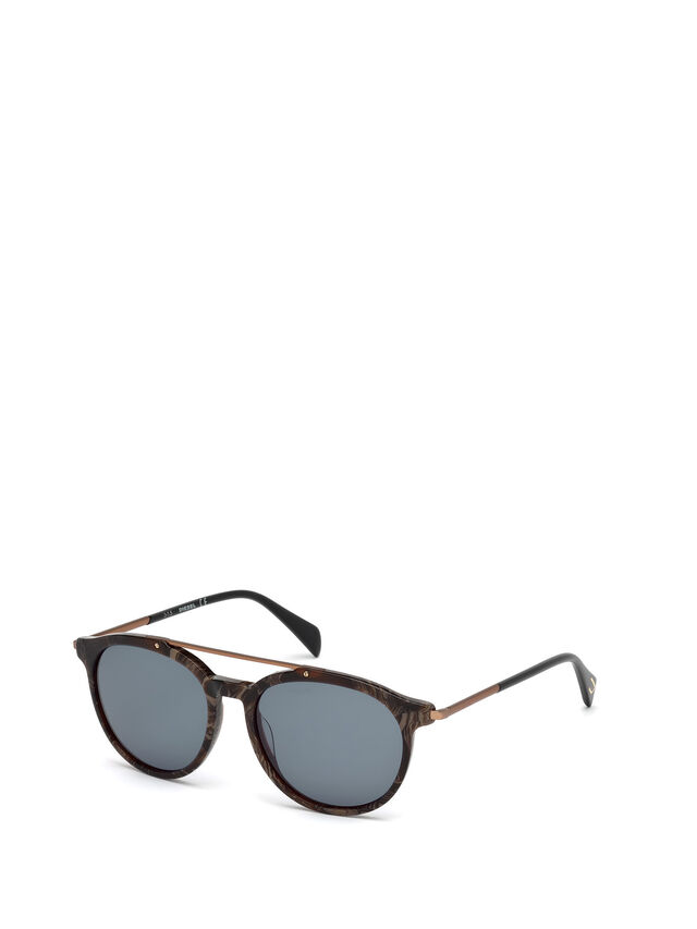 Diesel - DM0188, Brown - Sunglasses - Image 4
