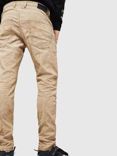 Diesel - Krooley JoggJeans 069GT, Beige - Jeans - Image 4