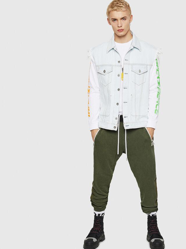 Diesel - P-TA, Dark Green - Pants - Image 5