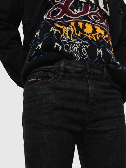 Diesel - D-Reeft JoggJeans 084AG, Black/Dark grey - Jeans - Image 3