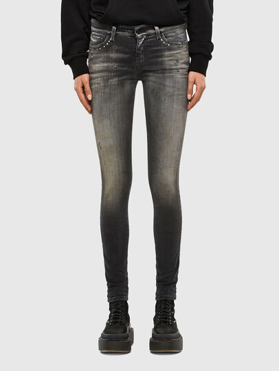 Diesel - Slandy 069QR, Black/Dark grey - Jeans - Image 1