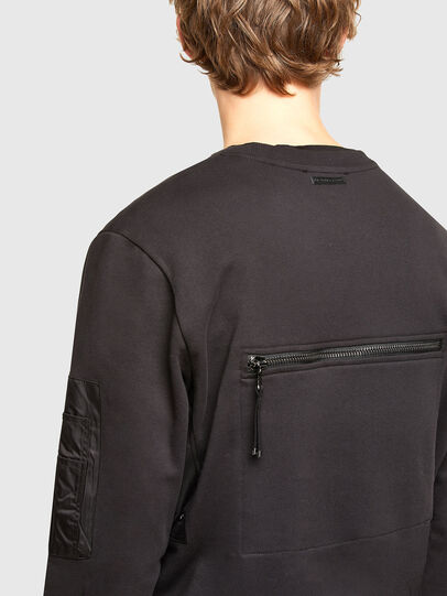 Diesel - S-IRIDIO, Black - Sweaters - Image 3