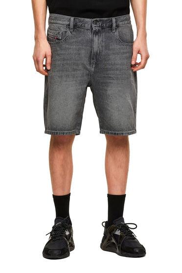 Slim shorts in denim