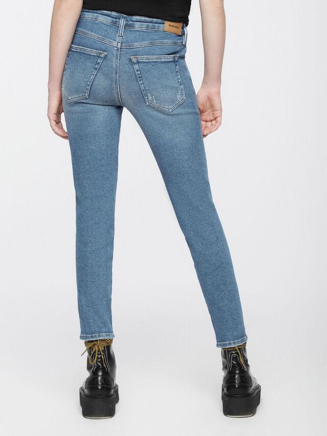Diesel - Babhila 084WP, Light Blue - Jeans - Image 3