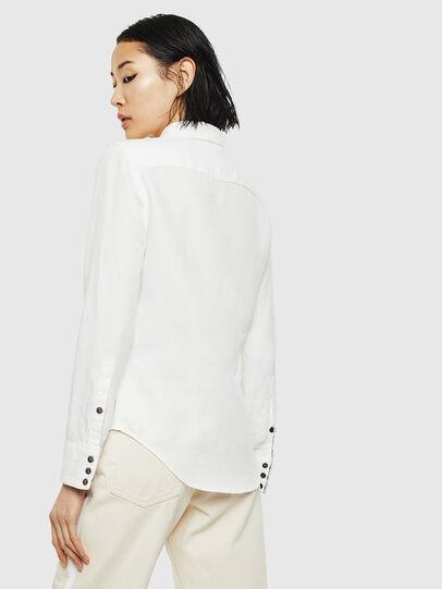 Diesel - DE-RINGY, White - Denim Shirts - Image 2