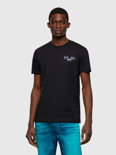 Green Label T-shirt with logo print