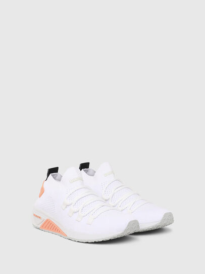 Diesel - S-KB ATHL LACE W, White/Pink - Sneakers - Image 2