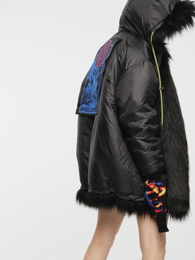 Diesel - L-WISKE, Black - Winter Jackets - Image 5