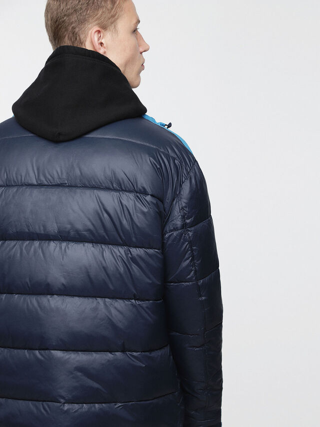 Diesel - W-SMITH-WH, Blue - Winter Jackets - Image 2