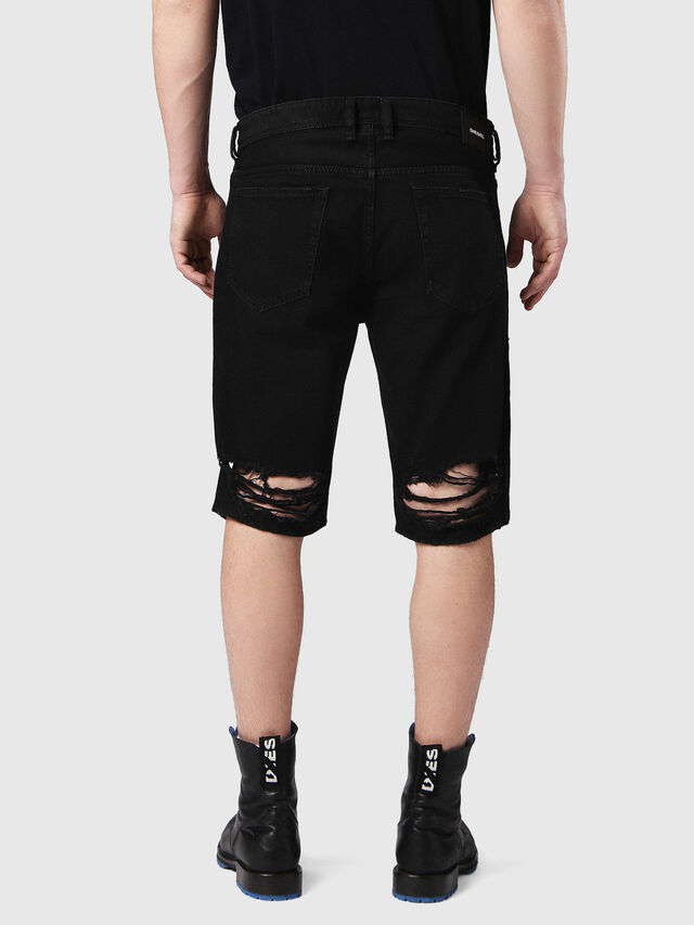 THOSHORT, Black denim