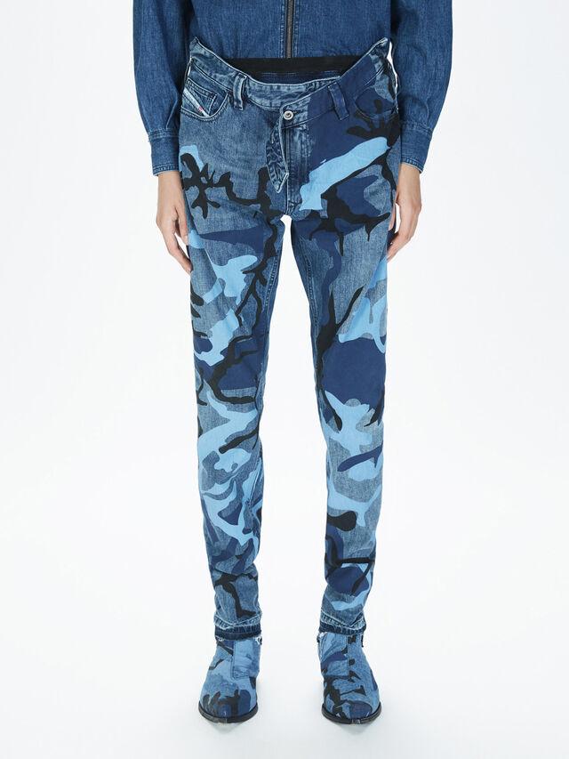 Diesel - SOPKN01, Melange Blue - Jeans - Image 3