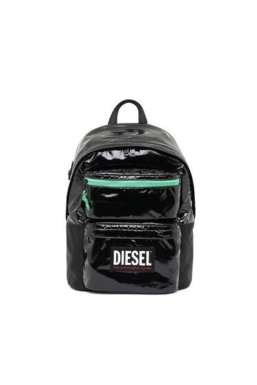 Backpack in ripstop with contrast zip
