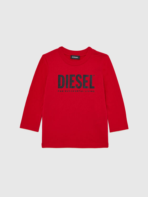 TJUSTLOGOB ML-R, Red - T-shirts and Tops