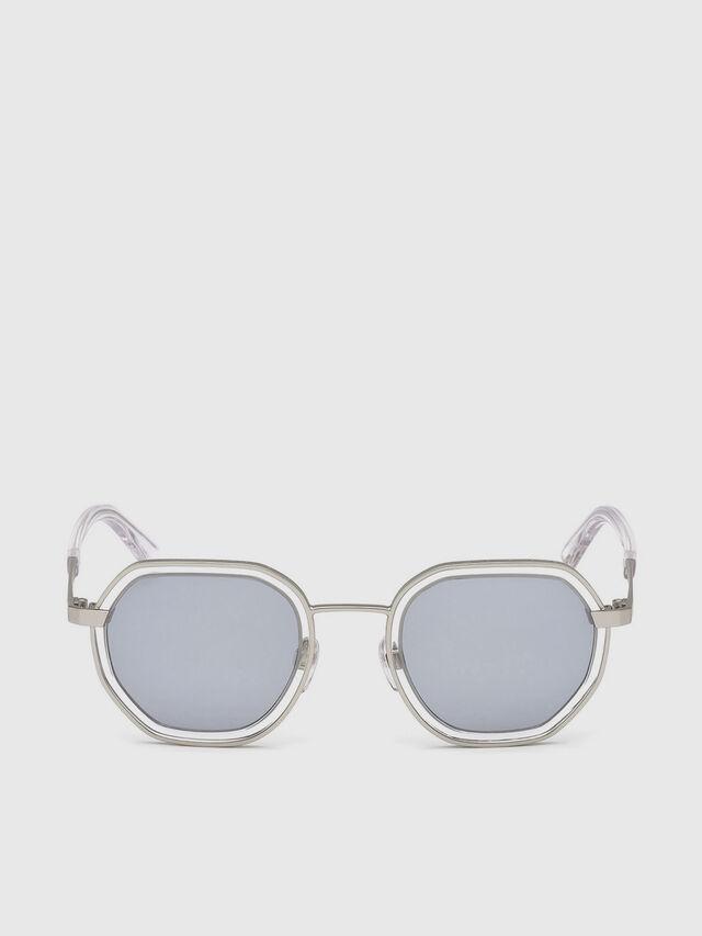 Diesel - DL0267, Grey - Sunglasses - Image 1
