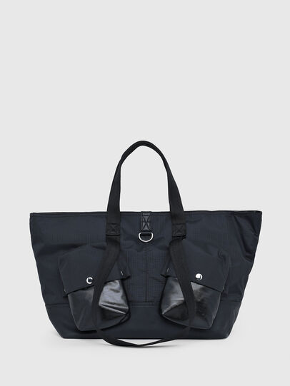 Diesel - IKYO, Black - Shopping and Shoulder Bags - Image 1