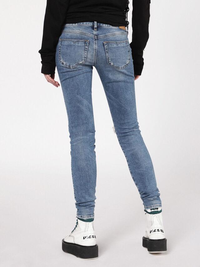 Diesel - Gracey 069AI, Medium blue - Jeans - Image 3