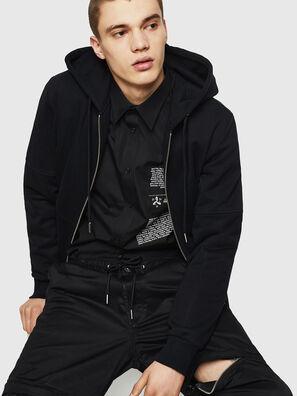 S-VEN-PRINT, Black - Shirts