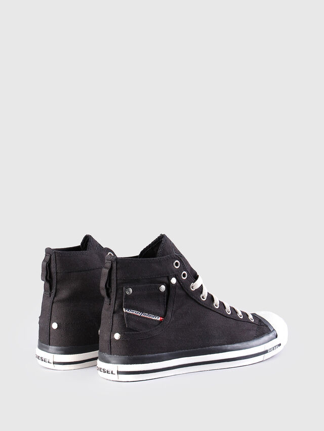 Diesel - EXPOSURE, Black - Sneakers - Image 2